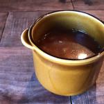 98091065 - ランチにつくスープ