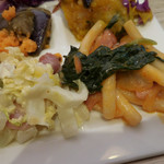 アンテナショップ ピエトロドレッシング - 白菜の焼きシーザーサラダ、ワンパンで気軽に トマトクリームパスタ