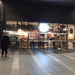 アサヒビールフロント - 店の外観 ※この寒い中、オープン席もあります