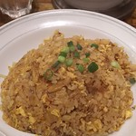98097074 - 炒飯セットのキムチ炒飯