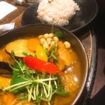 Rojiura Curry SAMURAI.  - 「豚の角煮と野菜のカレー」