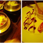 月天 - 八幡浜「月天」2000コース 釜飯とデザート