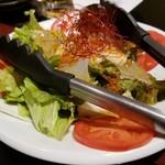 くつろぎ完全個室 海鮮炉端居酒屋 赤羽 ろば炭魚 - サラダ