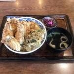 98101687 - かき天丼 1000円