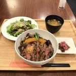 98102998 - アンガスサーロインステーキ丼 1680円