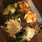 松阪牛たんど - ナムルの盛り合わせ