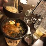 松阪牛たんど - ユッケジャンラーメン  辛口