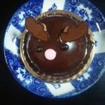 フロプレステージュ - トナカイのチョコカスタードケーキ