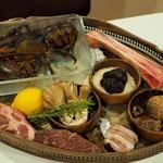リストランテ ピッツェリア ジャンカルロ トウキョウ - 今日の食材からメインやパスタをチョイス
