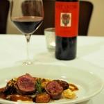 リストランテ ピッツェリア ジャンカルロ トウキョウ - ワインはペアリングで。