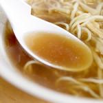 生姜ラーメン みづの - スープ