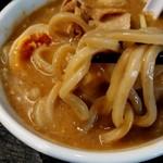 山形飛魚 亞呉屋 - どっぶり麺投入
