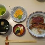 鍋茶屋 - うな丼(ランチ) 1080円