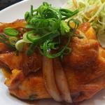 お食事処 藍菜亭 - 料理写真:チキンのピリ辛炒め