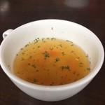 オウミデゴハン ヤミータンク - ヤミープレートセット スープ