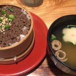 さくら鍋 鶴我 - 桜そぼろわっぱ飯(小)¥600(税別)