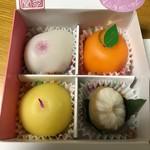 松竹堂 - フルーツ餅