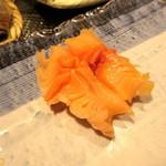 よし寿司 - 赤貝