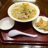 餃子とタンメン 天 - 料理写真:タンメンセット(普通盛り)