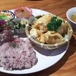 Link Point SAIRAI - うだつのあがる鶏天(サラダ・スープ・小鉢付き)