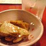ロココ - 鮪角煮と焼酎水割り