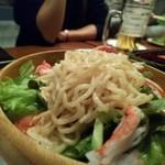 北海道キッチン Bakurico - ラーメンsalad。緑菜ボリューミー‼️