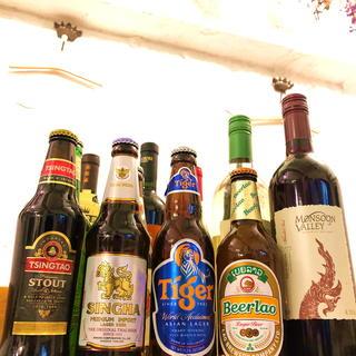 【世界各国のビールやワイン】世界27国を廻ったシェフの品揃え