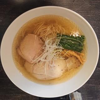 麺バルHACHIKIN - 料理写真:2018年12月 塩Soba 900円