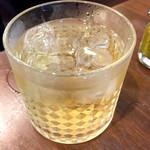 ALOK - インドウイスキーのソーダ割
