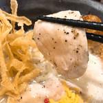 三代目晴レル屋 - 鶏チャーシュー