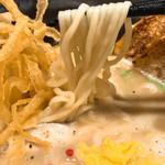 三代目晴レル屋 - もっちり麺