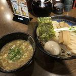 麺や よかにせ - 料理写真:濃厚魚介つけ麺(極太麺)並+煮玉子