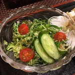 味処 大丸 - 野菜サラダ