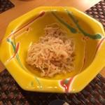 味処 大丸 - お通しの小鉢