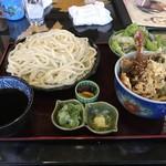 麦の花讃岐うどん - 料理写真:天丼セット