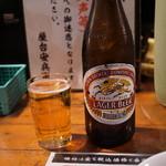 屋台安兵衛 - 瓶ビール