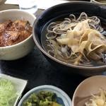 開拓そば - 料理写真: