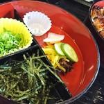 うなぎ処 京丸 - ひつまぶしの薬味