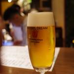 ぽんしゅや 三徳六味 - 寒くてもビール!