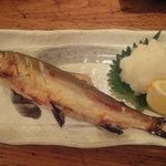 硯家 本店 - 鮎塩焼き