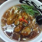 麺や 栄龍 - 牡蠣ラーメン(11-10)