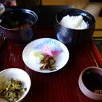 茶寮いま泉 - ごはんセット