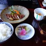 茶寮いま泉 - 和牛ステーキセット