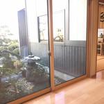 日本料理 大川 - 中庭