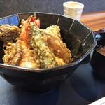 日本料理 大川 - 天丼別角度から