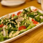 鶏亭 SaCURA - たむらの煮卵のグリーンサラダ