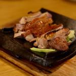 鶏亭 SaCURA - 天草大王鶏のもも肉の瓦焼き