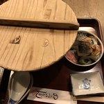 98144354 - のっぺいうどんと焼鯖寿司