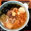 一茶庵 - 料理写真:一茶庵 分店@新庄 とりもつラーメン(750円)