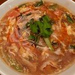 Chuugokuryourisui - トマト酸辣湯麺
